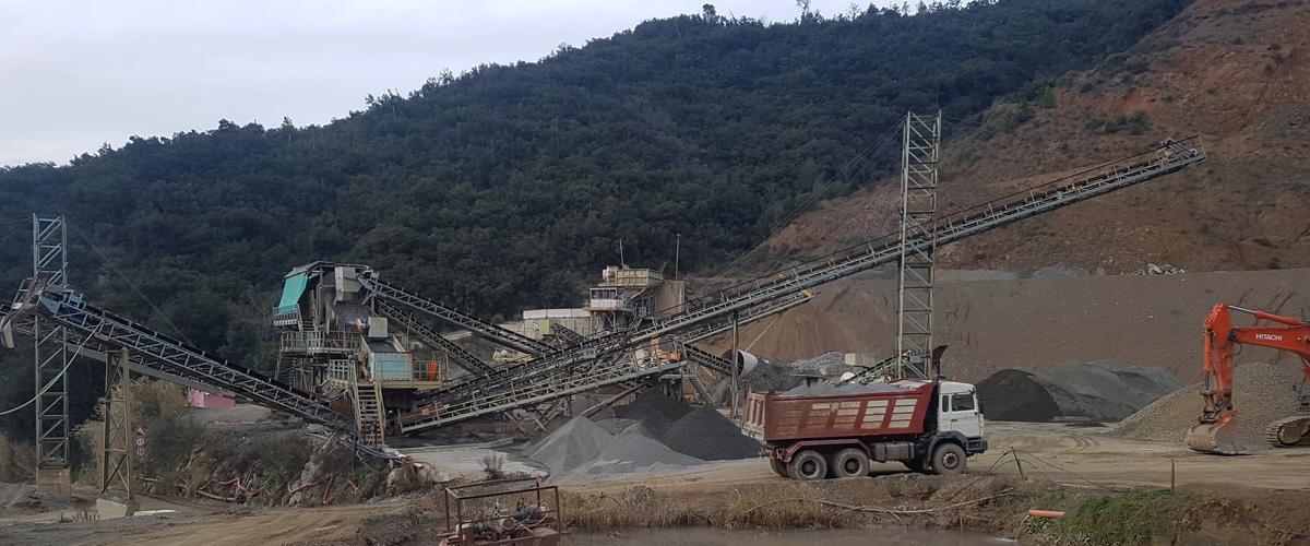 impianti di estrazione basalto